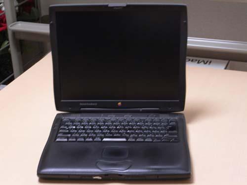 1998年購入のPowerBookG3