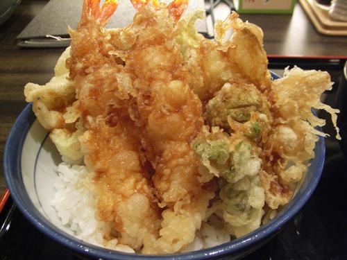 春天丼+ふきのとう